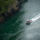 Speed Boating Deception Pass by timothysilva