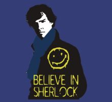 Believe in Sherlock by cooliounicorn