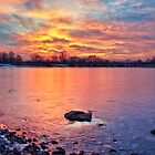 Ice Sunset by Justin DeRosa