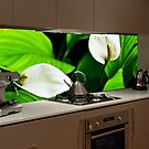 Kitchen Splash Back Glass by Martin Dingli