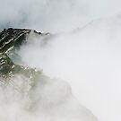 Mountains in Cloud, Karamatsu  by Skye Hohmann