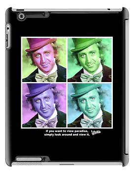 Willy Wonka Warhol by Kyle Price