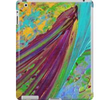 COLOR CHAOS Wild Vibrant Colorful Abstract Acrylic Painting Gift Art Decor iPad Case/Skin