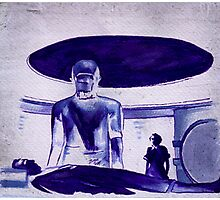 The Day The Earth Stood Still Photographic Print