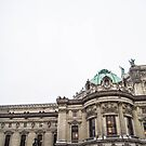 famous Opéra Garnier in Paris  by hpostant