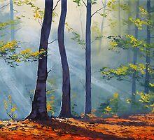 Forest Sunlight by Graham Gercken