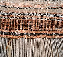 Hand loom, Old Scatness, Shetland by Richard Ion