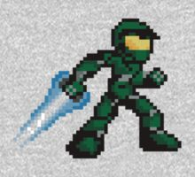 Pixel Master Chief by roguepixel