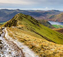 Whiteless Pike - Crummock Water by David Lewins