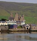 Scalloway and its Castle, Shetland by Richard Ion
