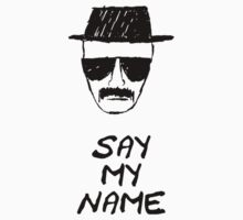 Breaking Bad - Say My Name by mumblebug