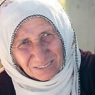 A Crafty Old Saleswoman in Cappadocia, Turkey by Robert Kelch, M.D.