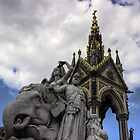 Elephant and Memorial by neal73