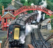 Goathland Station by Colin J Williams Photography