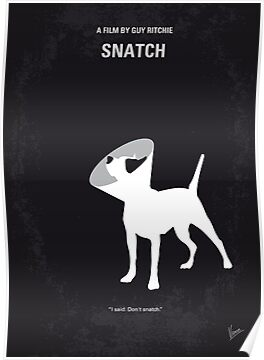 No079 My Snatch minimal movie poster by Chungkong