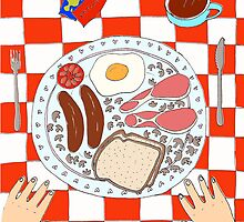 Breakfast by Catie Atkinson