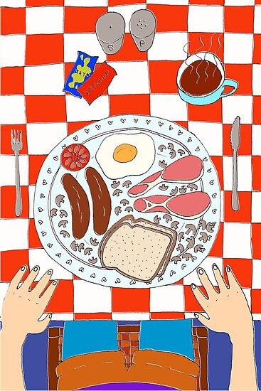 Breakfast by Catie Atkinson