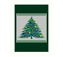 Christmas pullover Art Print