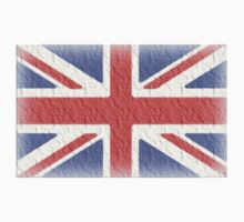 Union Jack FLAG faded UK by TOM HILL - Designer