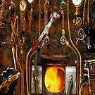 Steam Punk Boiler iPhone Case by ZeroAlphaActual