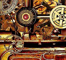 Steampunk Gearbox  by ZeroAlphaActual
