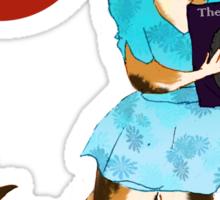 I'm a Cat Person-Girl Sticker