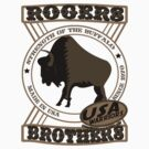 usa warriors buffalo by rogers bros by usala