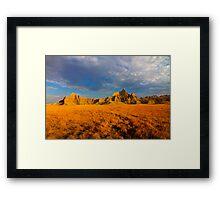 Sunrise over Badlands National Park .6 Framed Print