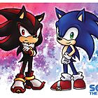 Sonic & Shadow by Vanesa Aguilar
