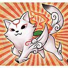 Chibiterasu Okami by Vanesa Aguilar