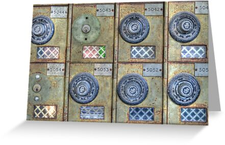 Anno 2012 - Mailboxes at the Post Office on Shirley Street in Nassau, The Bahamas by 242Digital