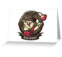 Moogle Delivery Greeting Card