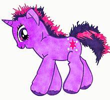 Derpy Twilight Sparkle by LilithScream