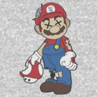 Retro Zombie Mario by bigredbubbles6