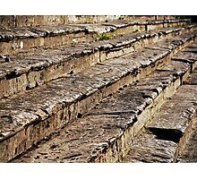 Arezzo Stairs Photographic Print