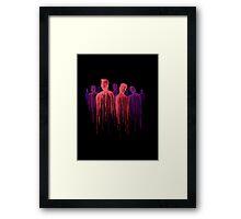 People of the Dark Framed Print