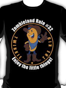 Twinkie the Kid Zombieland Rule 32 Enjoy the little things T-Shirt