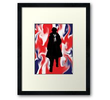 Made In Britain: Sherlock Framed Print