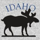 Idaho Moose by pjwuebker
