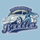 South Oceania Beetles - Volkswagen tee shirt by KombiNation