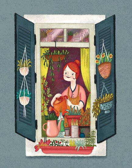Urban gardening by Laura  Wood