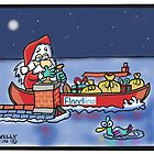 Floodline Santa by Tim Wells