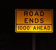 Road Ends by Loisb