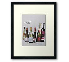 A Bottles Birthday Framed Print