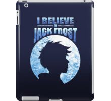 I Believe In Jack Frost iPad Case/Skin