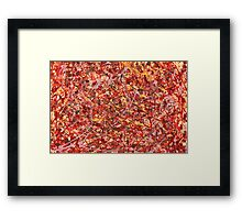 Abstract - Cosmetically speaking Framed Print