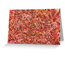 Abstract - Cosmetically speaking Greeting Card