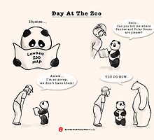 Day At The Zoo by Panda And Polar Bear