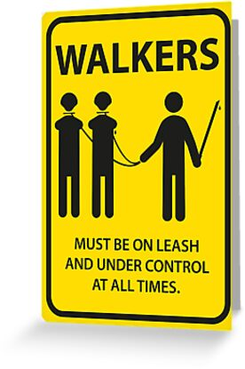 Walker Sign by nielsrevers