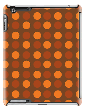 Shades Of Autumn [Brown] iPad Case by Louise Parton